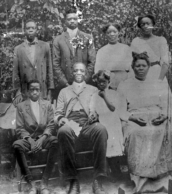 Alabama Family of Betty Green, Tallahassee, FL, ca. 1913