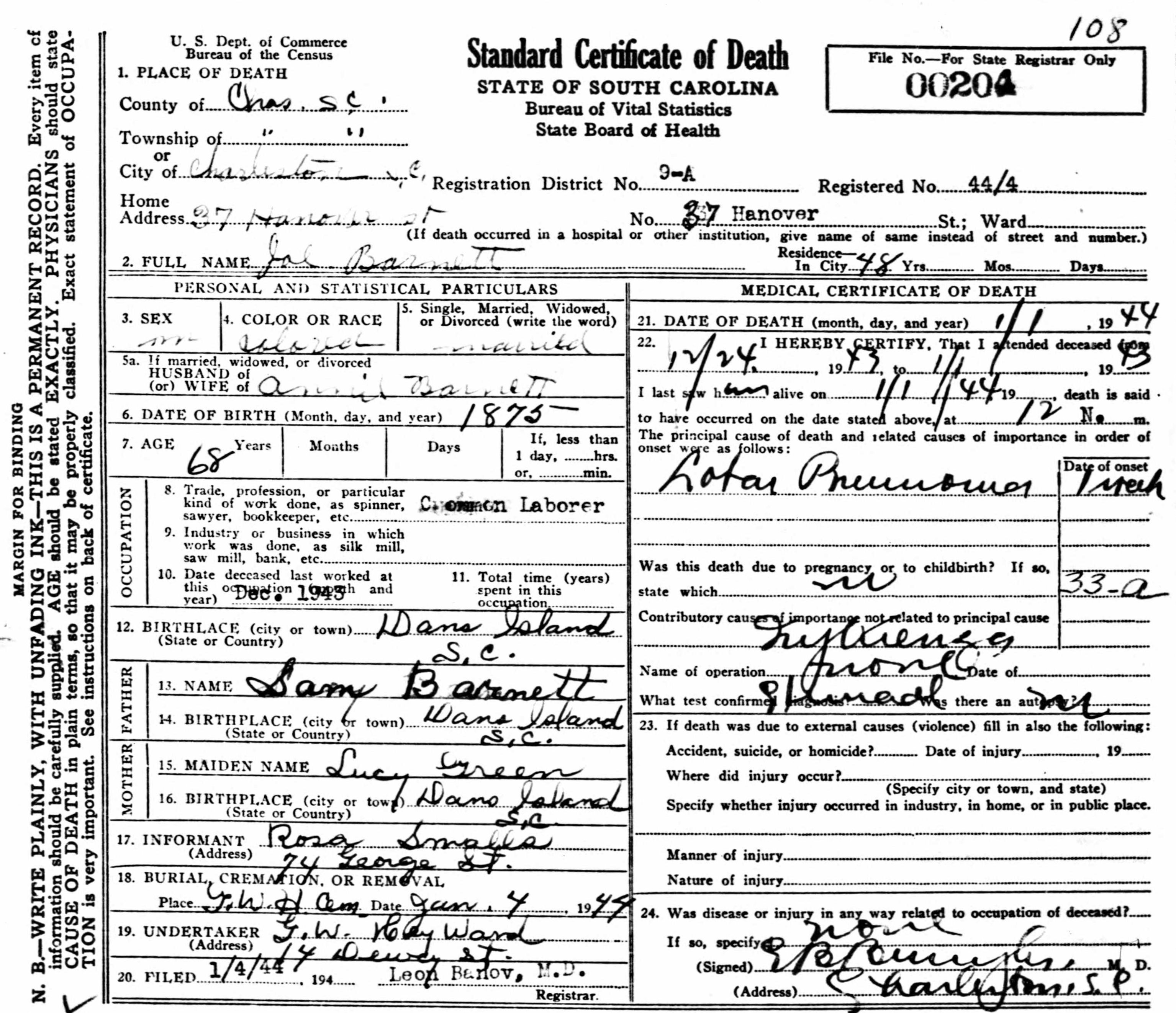 where to get a copy of death certificate