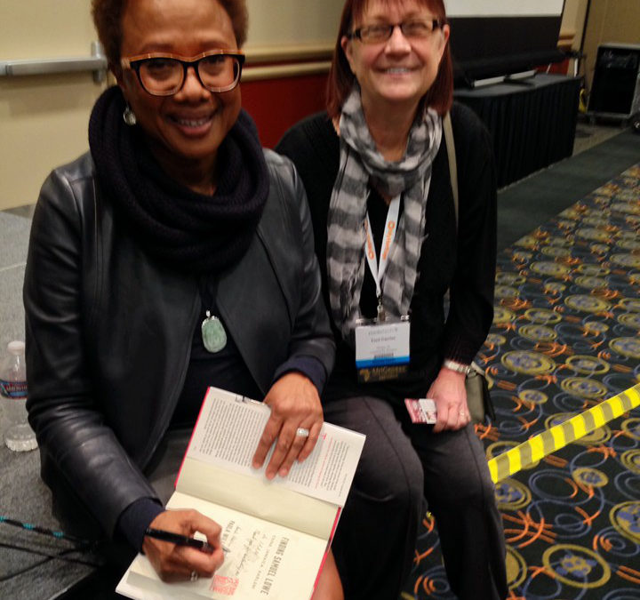 CFH in the Community: Author Paula Williams Madison Signs Her Book Finding Samuel Lowe for IAAM CFH