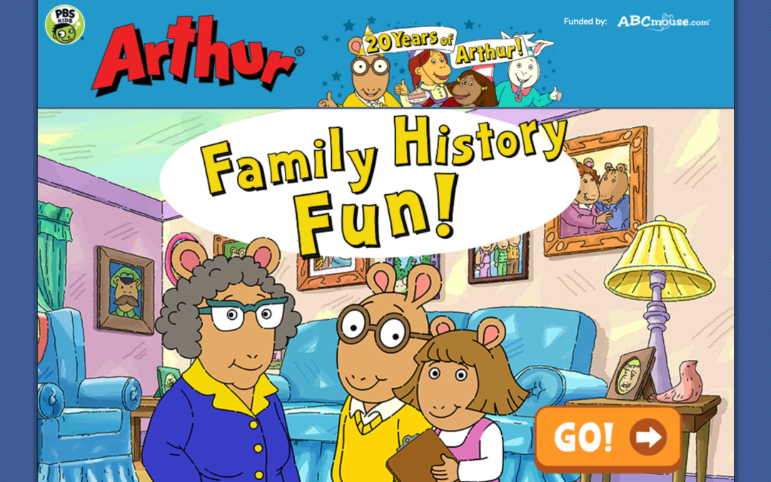 PBS Kids' Family History Fun With Arthur Game Introduces Kids to Oral History