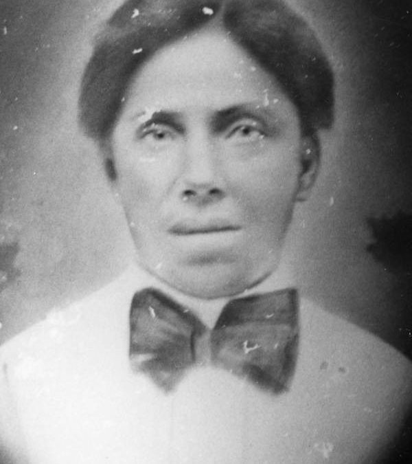 Millie Harrison, ca. 1870, Florida