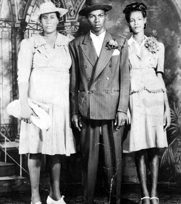Irene Albury Farrington, Creighton Taylor and Doris Farrington Taylor, FL, 195-