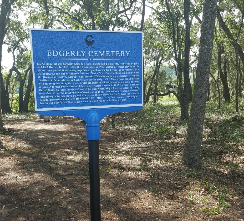 Edgerly Cemetery Sign