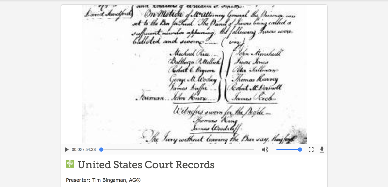 FS Court Record Courses — FamilySearch.org