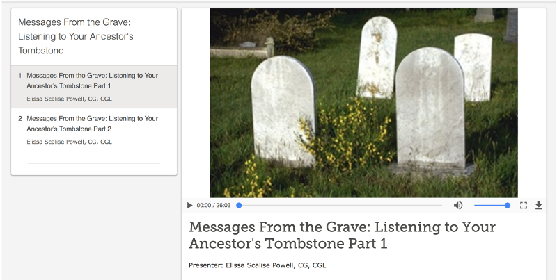 FS Cemetery Courses — FamilySearch.org
