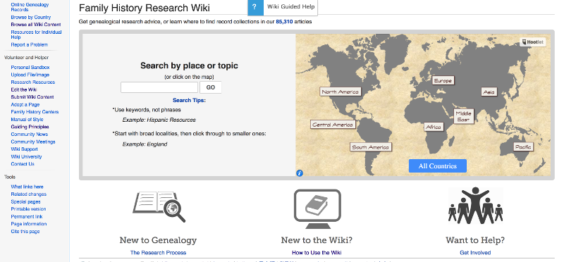 Has Your Genealogy Research Stalled? Check the FamilySearch Wiki for Fresh Ideas