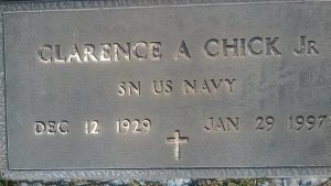 Clarence A. Chick, Jr. (1929-1997)