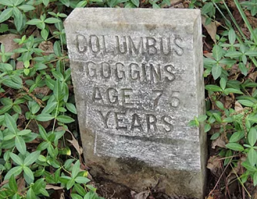 Columbus Goggins – Age 76 years, by Jim Ravencraft, May 20, 2014.