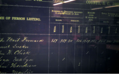 Finding Ancestors on the 1869 State Census for South Carolina