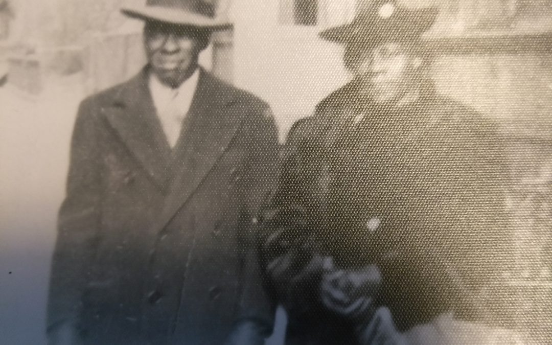 Alvin Preston and Malissa Bonaparte Preston, ca. 1940s, Harlem, NY, Contributed by Lynda Harris
