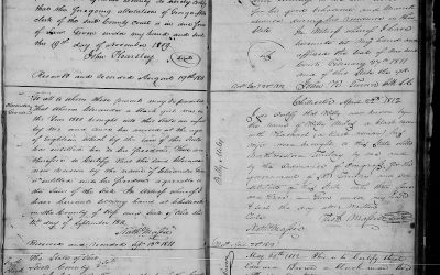 Found on FamilySearch: Record of Negroes, 1804-1855, Ross County, Ohio