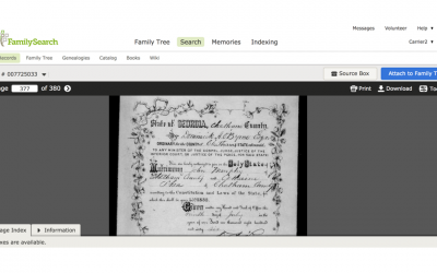 Has FamilySearch Digitized the Records You Need? Here's How to Check