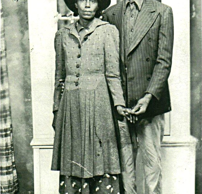 Ed Hughes and Kattie Isley, Harrison County, TX, Contributed by Thomas E. Hawkins