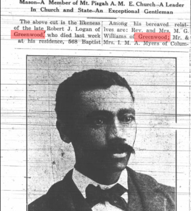 African American Newspapers: The Palmetto Leader Links to Greenwood