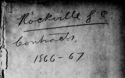 Rockville, South Carolina Labor Contracts, Mar 1866 – Aug 1867