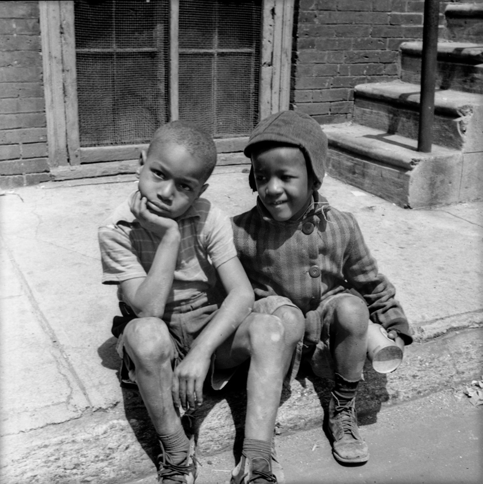 Unknown Children, New York City, ca. 1950s, Contributed by Aaron Mitchell