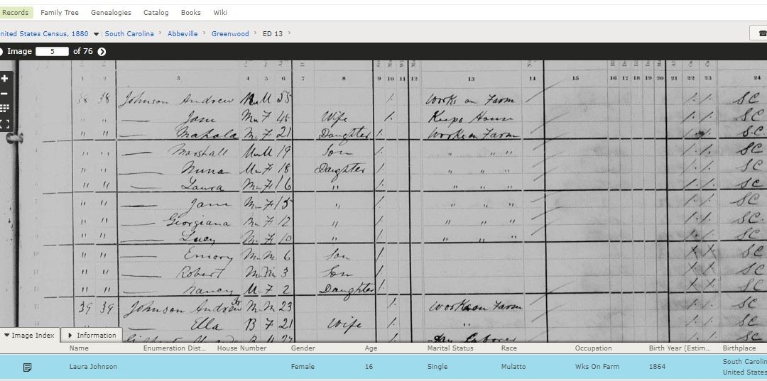 How I Found Laura Johnson (abt. 1864-1927) and Who She Married
